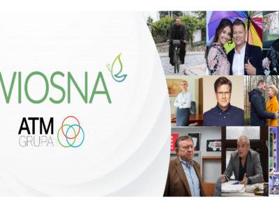 Przebojowa wiosna 2018 z ATM GRUPA!