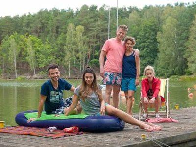 """Obraz: """"Pierwsza miłość"""": Wypadek na jeziorze!"""