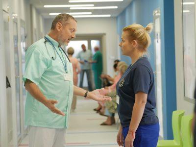 """""""Pierwsza miłość"""": Dzień z Marysią w szpitalu (wideo)"""