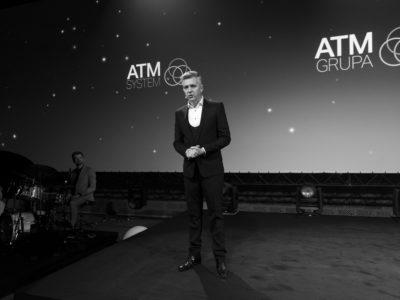 Wernisaż kalendarza ATM Grupy <br>                     Prezes ATM Grupy Andrzej Muszyński <br>
