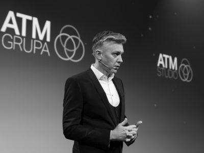 Wernisaż kalendarza ATM Grupy <br>                     Andrzej Muszyński <br>