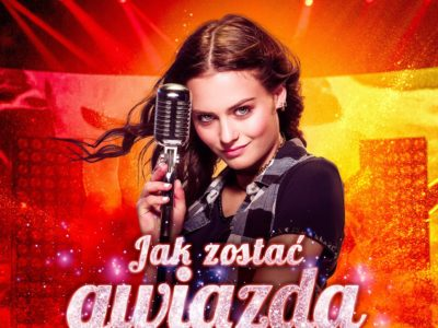 """plakat do filmu """"Jak zostać gwiazdą"""" <br>"""