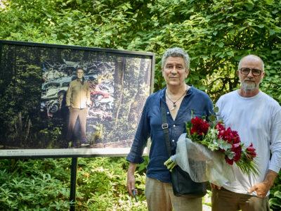 wystawa zdjęć Jacka Poremby do kalendarza ATM, Ogród Botaniczny PAN <br>                                           Andrzej Zieliński i Jacek Poremba <br>